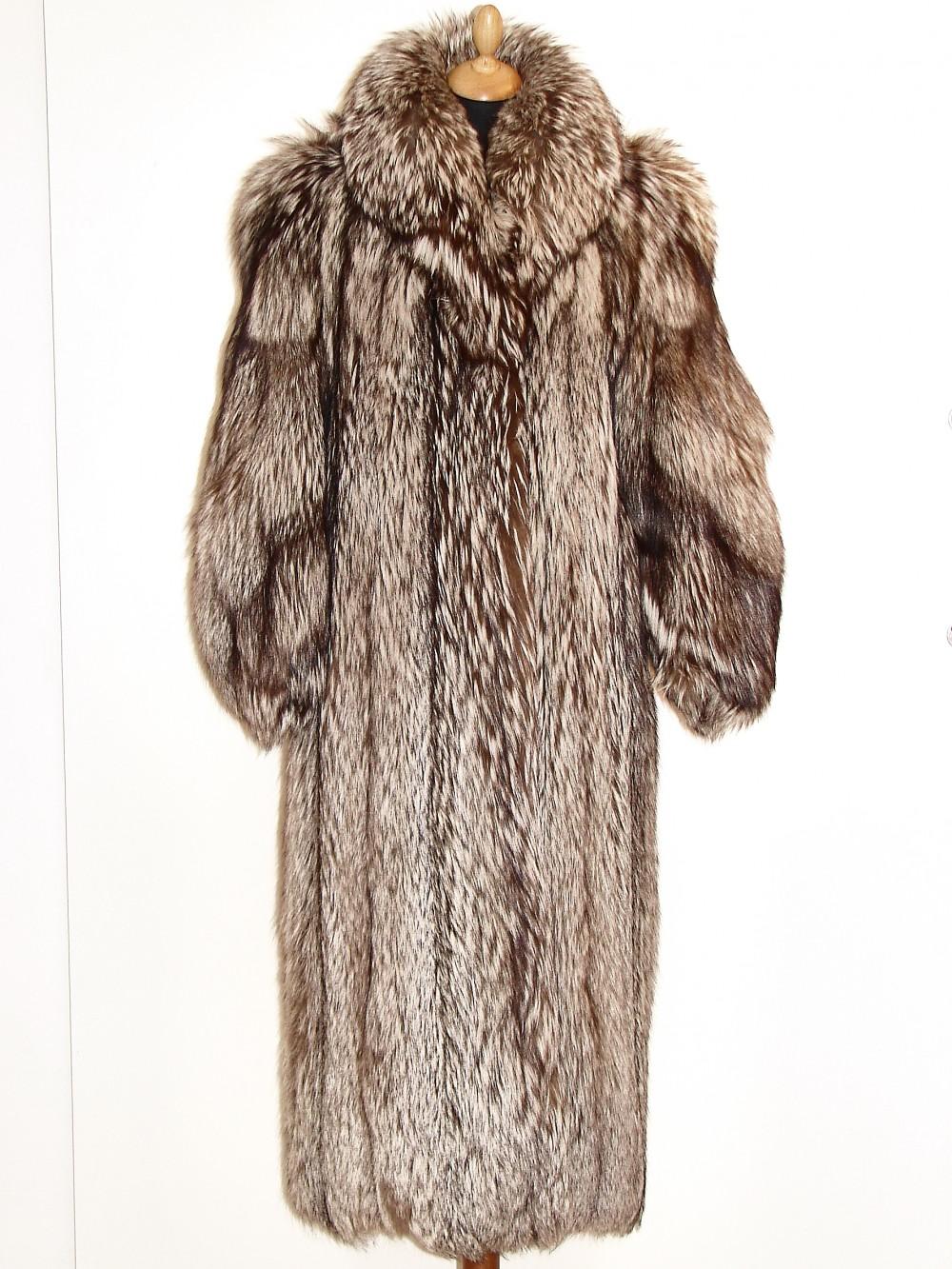 72f6ade44 Sølvræv pels